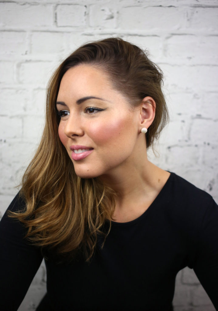 Makeup artist Jess Karas